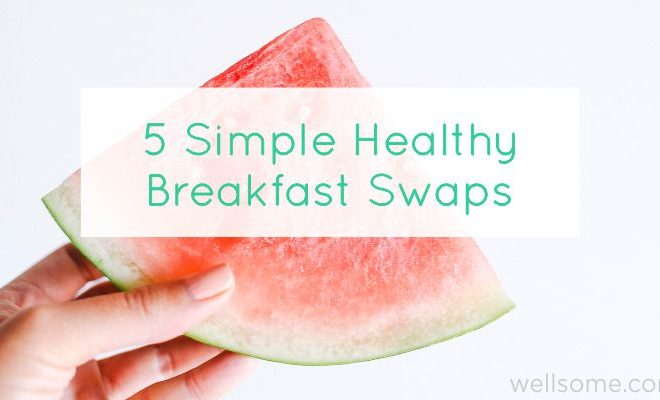 5 Simple Healthy Breakfast Swaps to try in 2017
